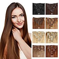 Human Hair Extensions Human Hair 70-120 14-24 Hair Extension