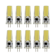 Dimmable G4 Led Lamp Spotlight 1 SMD COB 350Lm 220V - 240V 5000-6500K/2800-3500K (10 Pieces)