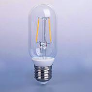 2W AC220-240v E26/E27 LED Filament Bulbs P45 2 SMD 5730 140 lm Warm White Decorative V 1 pcs