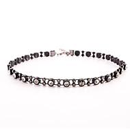 Modische Halsketten Kristall Halsketten Schmuck Halloween / Hochzeit / Party / Alltag / Normal / SportBasis Design / Kreisförmiges Design