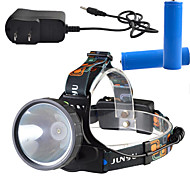 Belysning Hodelykter LED Other Lumens 3 Modus - 18650 Mulighet for demping / Oppladbar / Super Lett / High PowerCamping/Vandring/Grotte