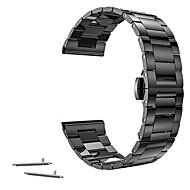 18mm banda de reloj enlace hebilla de mariposa de acero inoxidable para Withings, activit activit pop o acero activit y Huawei banda de