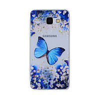 Mert Minta Case Hátlap Case Pillangó Puha TPU mert Samsung A8(2016) / A5(2016) / A3(2016) / A8 / A7 / A5 / A3