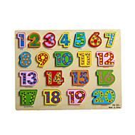 Jigsaw Puzzles Jigsaw Puzzle Building Blocks DIY Toys Wood Rainbow
