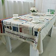 Kwadrat Patchwork Obrusy , 100% Cotton Materiał Hotel Stół Tabela Dceoration