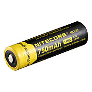 nitecore nl147 750mAh 3.7V 2.8wh 14500 Li-ion akkumulátor