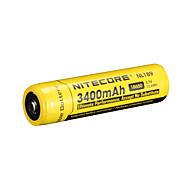 NiteCore nl189 3400mAh 3.7v 12.6wh 18650 oplaadbare Li-ion batterij