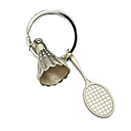 Key Chain Leisure Hobby Toys Key Chain Baseball Metal Silver For Boys / For Girls