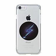 Para Transparente / Estampada Capinha Capa Traseira Capinha Desenho Macia TPU para AppleiPhone 7 Plus / iPhone 7 / iPhone 6s Plus/6 Plus
