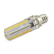 7W Dimmable E12 LED Corn Lights 152 SMD 3014 580 Lm Warm / Cool White Home Lighting 110V 1 Piece