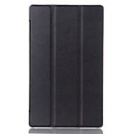 laa caso para la lengüeta lenovo 3 8,0 pestaña 3-850f / m funda de cuero cubierta protectora para el lenovo ficha 2 a8-50 caja de la