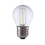 2W E26/E27 LED-glödlampor P45 2 COB 250 lm Varmvit / Kallvit AC 220-240 V 1 st