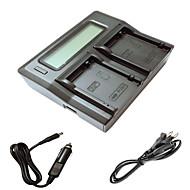 キヤノンEOS 700D 650D 600D 550Dカメラbatterysのための車の充電ケーブルとismartdigi lpe8 LCDデュアル充電器