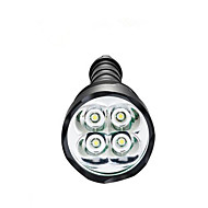 Belysning LED-Ficklampor LED 3800 Lumen 5 Läge LED 18650 / AAA Bimbar / Vattentät / High Power / SuperlättCamping/Vandring/Grottkrypning