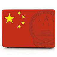 Chinese nationale vlag patroon macbook computer case voor de MacBook air11 / 13 pro13 / 15 pro met retina13 / 15 macbook12