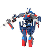 Action Figures & Stuffed Animals / Building Blocks For Gift  Building Blocks Model & Building Toy Warrior / Fighter / Robot ABS5 to 7