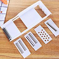 4 Dele Gulerod / AgurkFor Køkkenredskaber Plastik / Rustfrit stål Multifunktion / Creative Kitchen Gadget