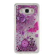 For Samsung Galaxy J5 (2016) J5 Flowing Liquid Pattern Case Back Cover Case Glitter Shine Soft TPU for J3 J3 (2016) Grand Prime Core Prime
