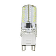 5W G9 Decoration Light T 64LED SMD 3014 380LM lm Warm White /Cool White Dimmable AC110V/220 V 1 pcs