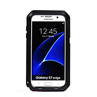 For Samsung Galaxy S7 edge S7 Water Dirt/Shock Proof Case Full Body Case Solid Color Hard Metal S6 edge plus S6 edge S6 S5