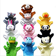 Hand Even Toy Animals Hand Dolls PP Cotton Color Mixed
