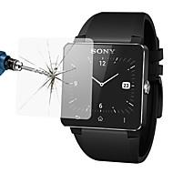 0,33 mm przeciwwybuchowy anty zarysowania folia ochronna Screen Protector szkło hartowane dla Sony inteligentnego zegarka 2 (SW2)