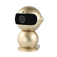 yanse®1.3MPロボットミニナイトビジョンベビーモニターのHD無線LAN屋内かわいいIPカメラ(リモートアクセス/プラグアンドプレイ)