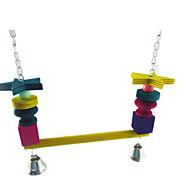새 새 장난감 나무 멀티색상