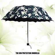 블랙 접는 우산 써니와 비오는 Plastic 유모차