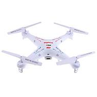 Drone SYMA X5C 4CH 6 Eixos 2.4G Com Câmera HD de 2.0MP Quadcóptero RC Iluminação De LED / Vôo Invertido 360° / Flutuar / Com Câmera