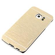 용 충격방지 / 울트라 씬 케이스 뒷면 커버 케이스 단색 하드 알루미늄 용 Samsung S7 edge / S7 / S6 edge / S6 / S5