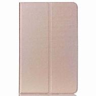 Pro se stojánkem / Automatické probouzení / Ultra tenké Carcasă Oboustranný Carcasă Jednobarevné Pevné PU kůže pro SamsungTab S2 9.7 /