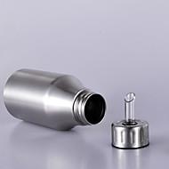 1 PC Stainless Steel Household Oil Can Filling Vinegar Pot Leakproof Capped Kitchen Oil tTank