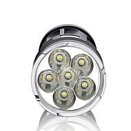 Verlichting LED-Zaklampen LED 3000 Lumens Mode LED 18650 Dimbaar / Waterdicht / Hoog vermogen / Super LightKamperen/wandelen/grotten
