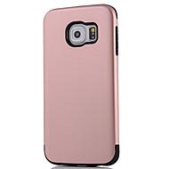 For Samsung Galaxy S7 Edge S7 Case Cover afkøles en serie af tre anti-rustning telefon sag