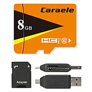 Caraele 8GB Micro SD-kort TF kort minnekort UHS-I U1 Class10