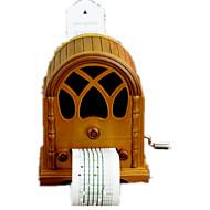 Music Box Happy Birthday Wood Khaki For Boys / For Girls