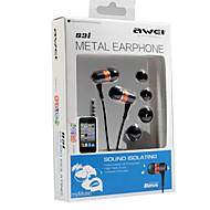 Awei-Q3i hochwertigen hallo-Fi 3,5 mm In-Ear-Ohrhörer für Mikrofon für iphone6 / 6plus (verschiedene Farben)