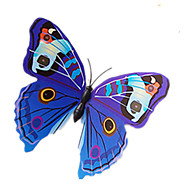 Magnet Toys Leisure Hobby Toys Novelty Butterfly PVC Blue For Boys / For Girls