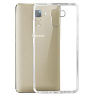 Για Θήκη Huawei Εξαιρετικά λεπτή / Διαφανής tok Πίσω Κάλυμμα tok Μονόχρωμη Μαλακή TPU Huawei Huawei Honor 7