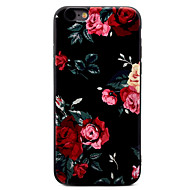 For Mønster Etui Bakdeksel Etui Blomst Myk TPU for Apple iPhone 7 Plus / iPhone 7 / iPhone 6s Plus/6 Plus / iPhone 6s/6