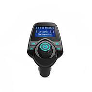 Bluetooth nadajnik FM Obsługa karty TF, u dysku, ładowarka samochodowa