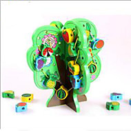 Stress Relievers / Educational Toy Leisure Hobby Toys Novelty Circular / Cylindrical Wood Rainbow For Boys / For Girls