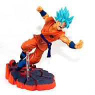 Anime Akciófigurák Ihlette Dragon Ball Son Goku PVC 14 CM Modell játékok Doll Toy