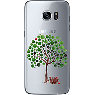For Samsung Galaxy S6 Edge Plus S6 S7 Edge S7  Apple tree Soft Material For Compatibility TPU