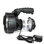 תאורה פנס LED LED 300 Lumens 3 מצב Cree XR-E Q5 כפתור סוללת ליתיום Dimmable חירום מתח גבוהמחנאות/צעידות/טיולי מערות שימוש יומיומי ציד דיג