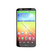 υψηλή διαφάνεια προστατευτικό οθόνης ματ LCD για LG G2 (3 τεμάχια)