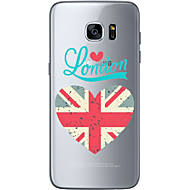 TPU For Samsung Galaxy S6 Edge Plus S6 S7 Edge S7 The Flag of England Soft Material For Compatibility