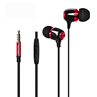 Nøytral Produkt HST-41 Øreplugg-hodetelefoner (i ørekanalen)ForMedie Avspiller/Tablett Mobiltelefon ComputerWithMed mikrofon DJ FM Radio