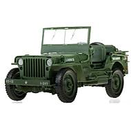 Vehicul Militar Jucarii Jucării auto 1:18 Metal ABS Plastic Verde Jucărie de Construit & Model